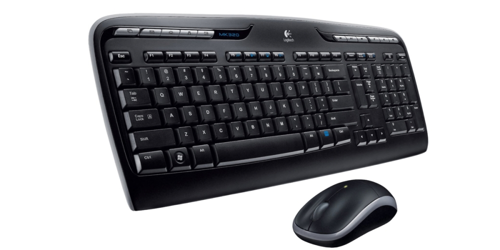 Logitech MK320 Wireless Multimedia Keyboard and Optical Mouse