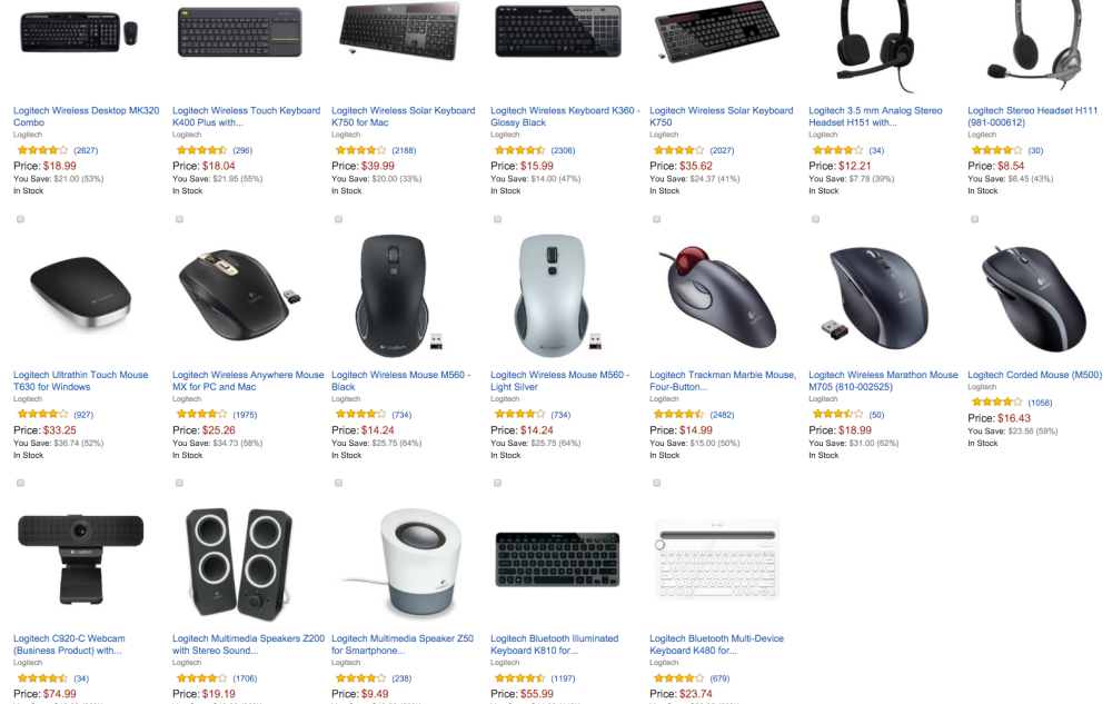 Logitech PC and tablet accessories Amazon