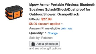 mpow bluetooth speaker