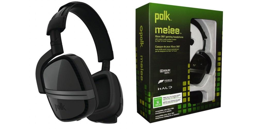 Polk Audio Melee Headphone in Black for Xbox One:Xbox 360-4