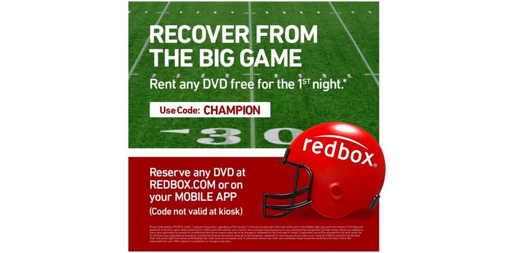 redbox-superbowl-promo-code