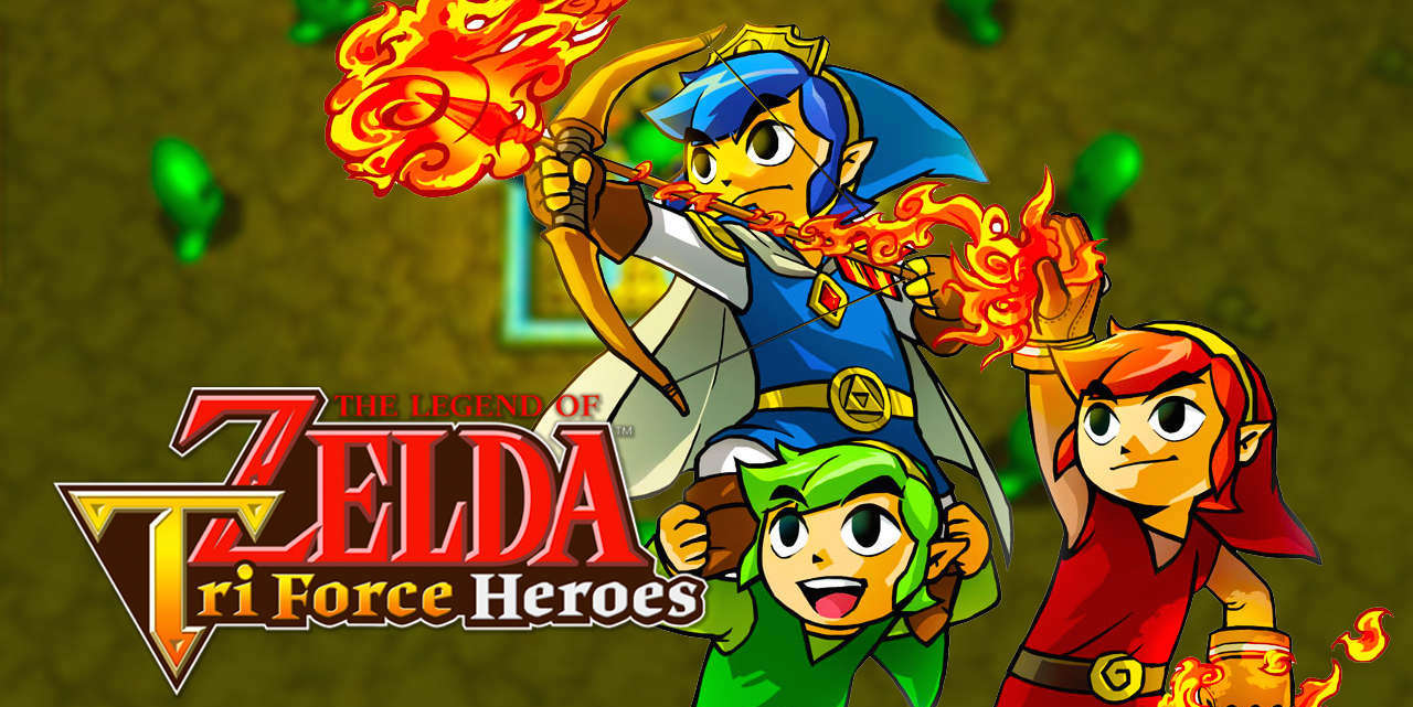 The Legend of Zelda- TriForce Heroes