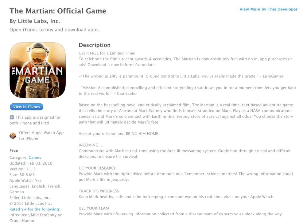 The Martian-iOS-sale-game-011