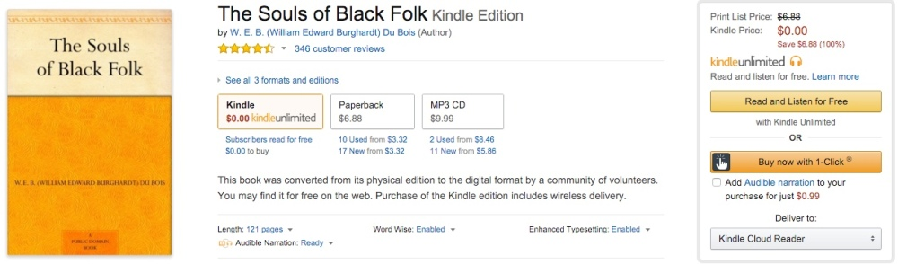 The Souls of Black Folk Kindle Edition