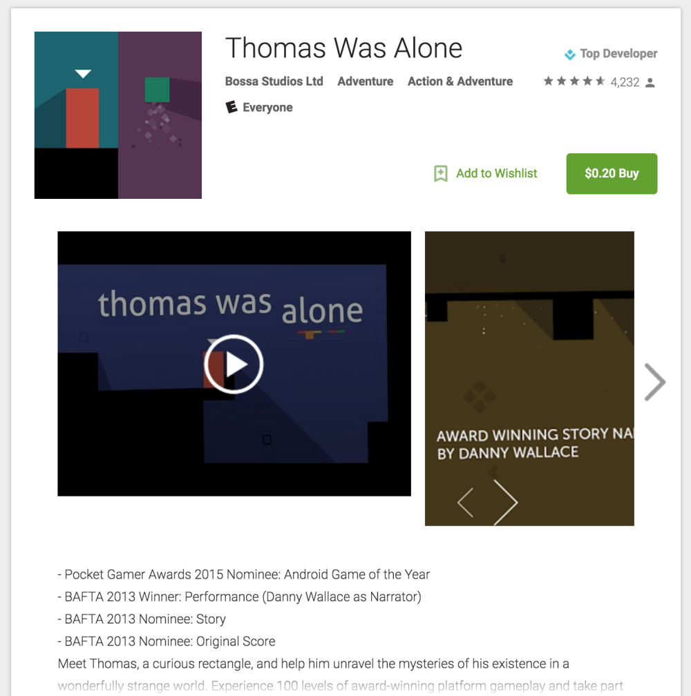 thomas-was-alone-google-play-store