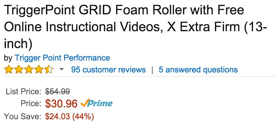 triggerpoint-foam-roller-deal