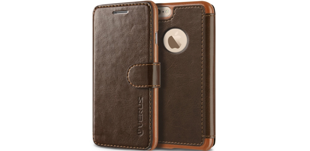 Verus iPhone 6:s Leather Wallet-Style Case