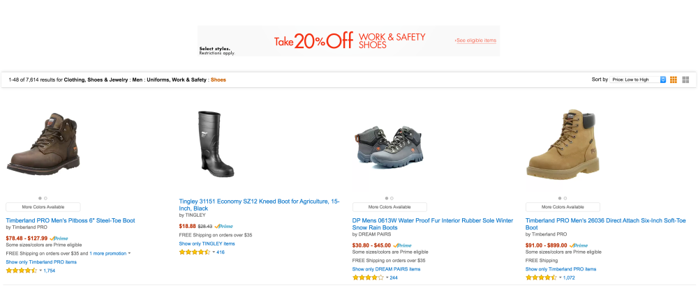 work boots-sale-Amazon-Gold Box-01