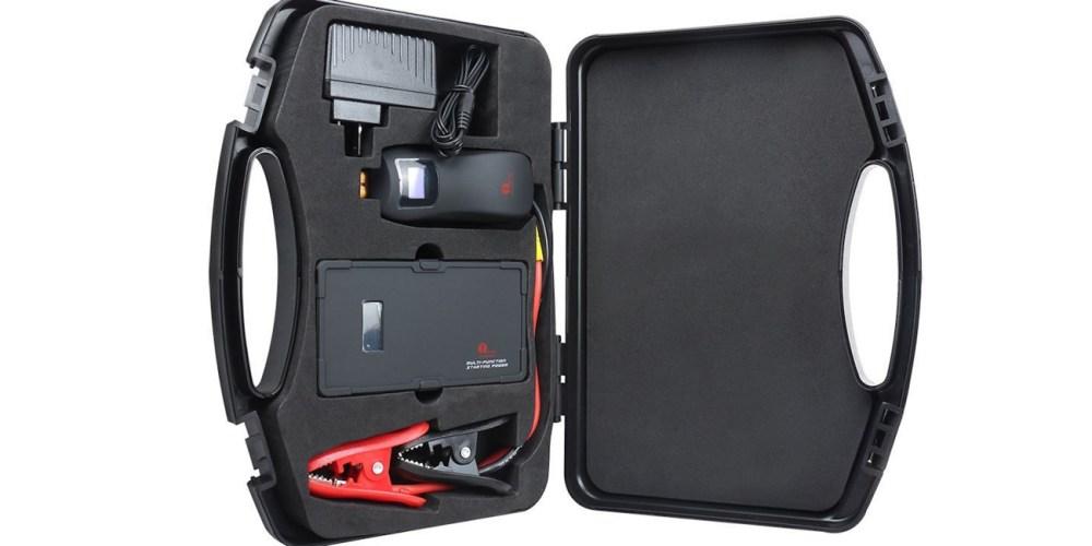 1byone 9000mAh 12V Multi-Function Smart Portable Car Jump Starter