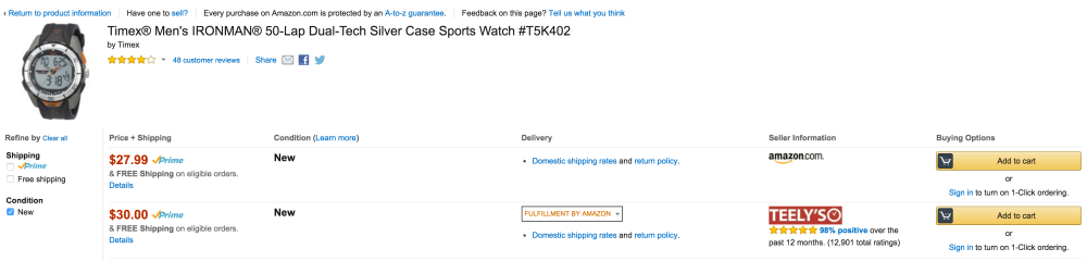 50% or more off sports watches from Timex, Casio and Armitron-4