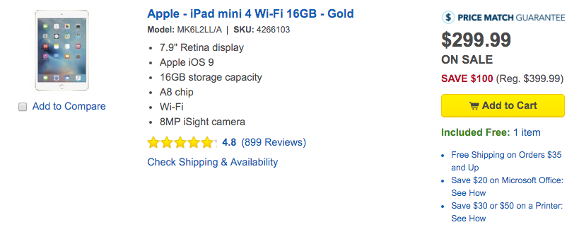 apple-ipad-mini-4-best-buy-deal