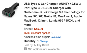 aukey coupon code