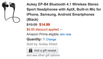 aukey headphones coupon