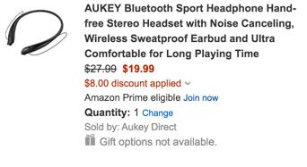 Aukey promo code