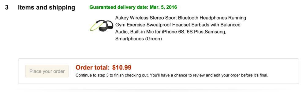 Aukey Wireless Stereo Sport Bluetooth Headphones-2