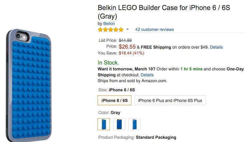 Belkin LEGO Builder Case for iPhone