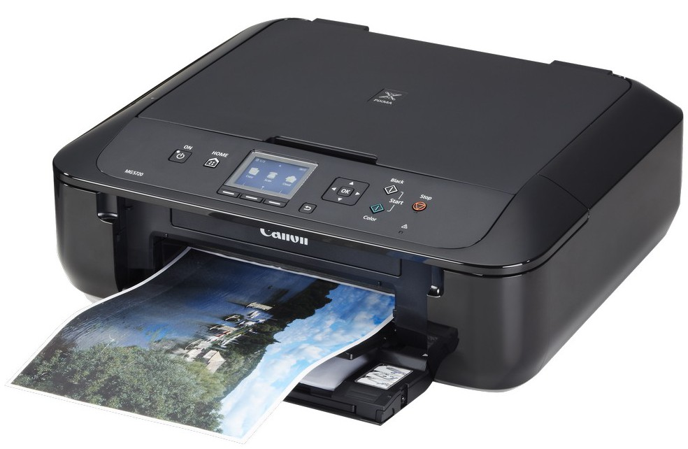 Canon MG5720 Printer Scanner & Copier with Wi-Fi - Airprint & Cloud Print Ready -Black