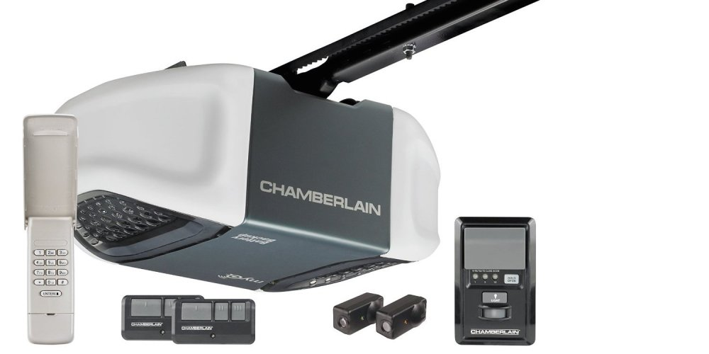 Chamberlain Whisper Drive Garage Door Opener with MyQ Technology and Battery Backup-sale-01