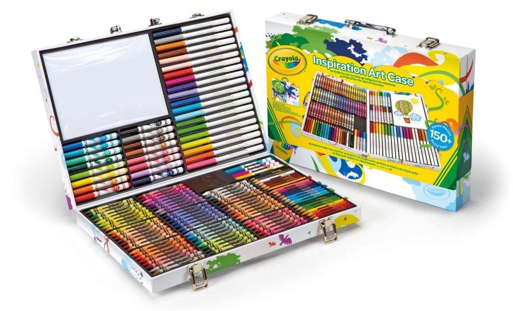 Crayola 150-piece Inspiration Art Case