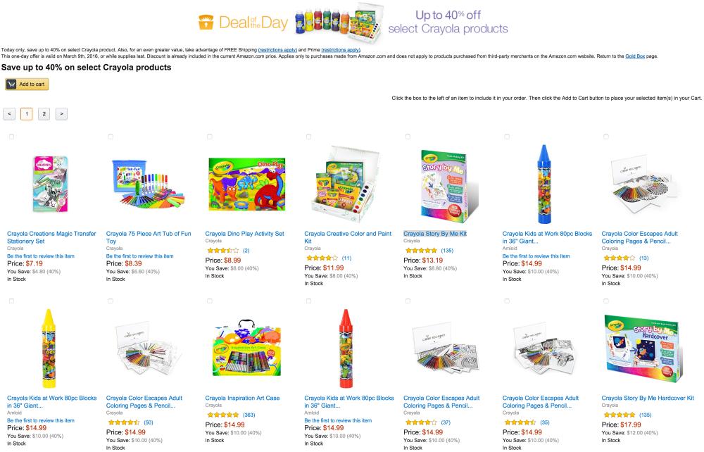 Crayola Geometric Color Escapes Adult Coloring Pages & Pencil Kit-Amazon Gold Box-sale-01