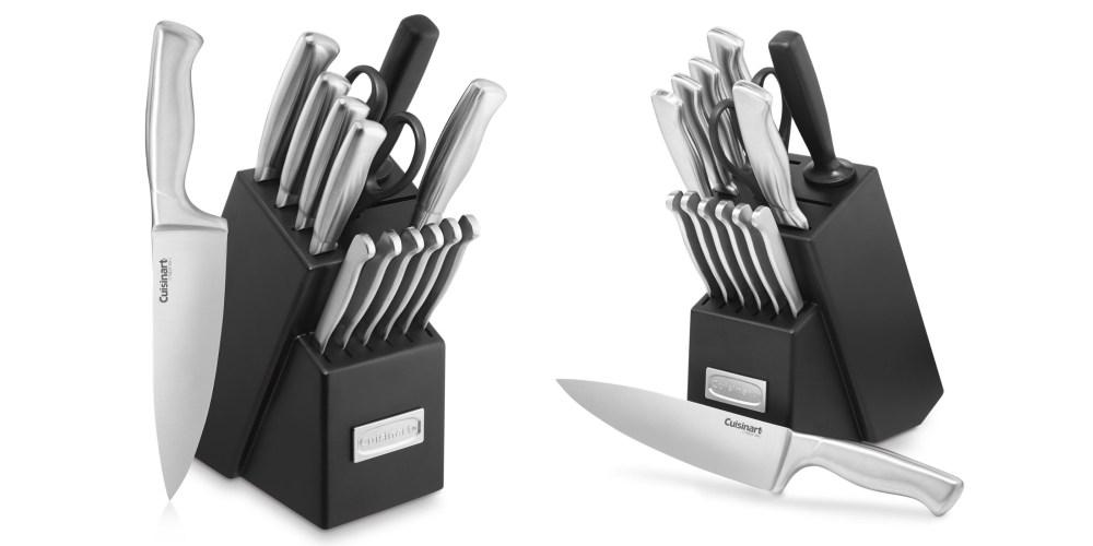 Cuisinart 15-Piece Stainless Steel Hollow Handle Block Set-3