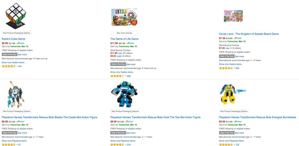 Easter Toys Amazon gold box