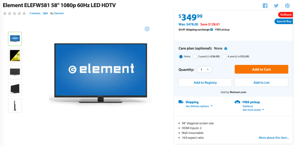 element-hdtv-walmart-deal