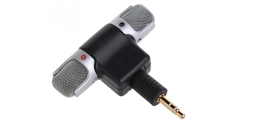 ET 1pc New Mini Stereo Microphone Mic 3.5mm Mini Jack PC Laptop Notebook
