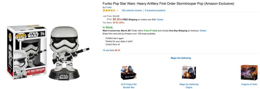 funko pop star wars exclusive