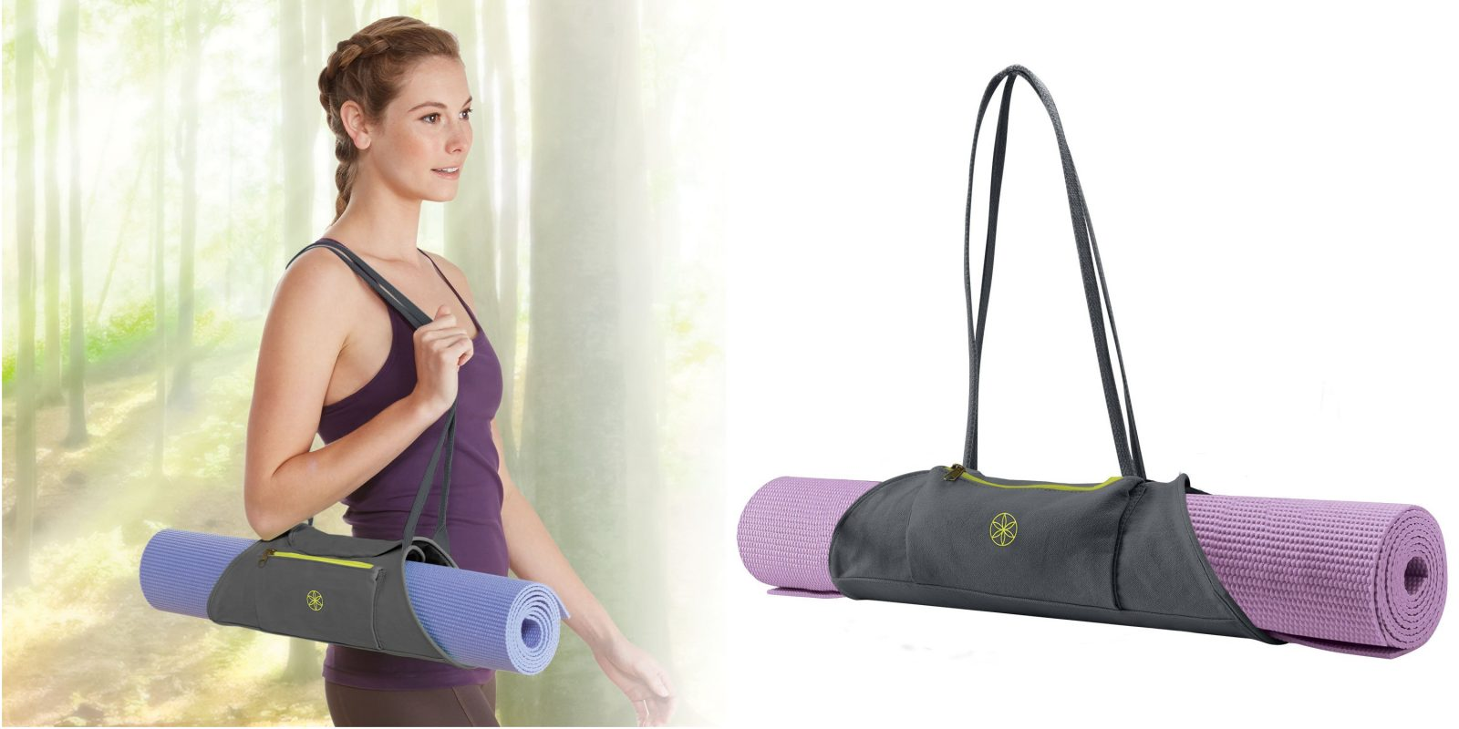 Gaiam On The Go Yoga Mat Carrier Deals And Promo Codes