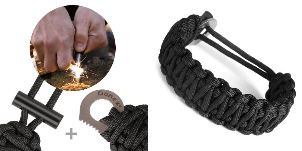Gonex Premium Paracord Bracelet