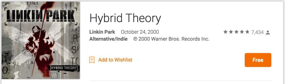 google-play-hybrid-theory-deal