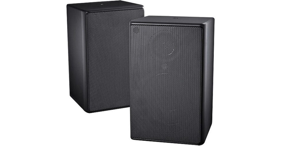 Insignia™ - 2-Way Indoor:Outdoor Speakers (Pair) - Black