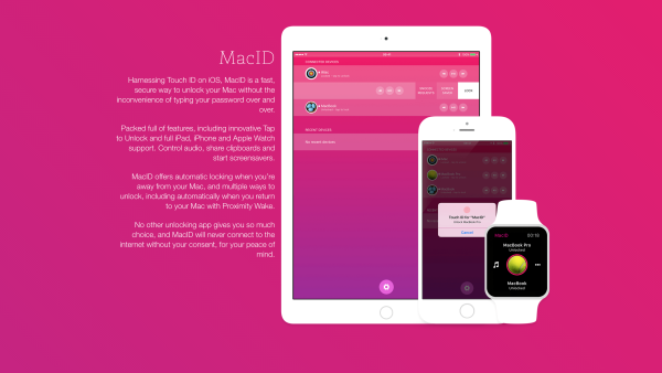 MacID for iOS: unlock your Mac using iPhone or Apple Watch