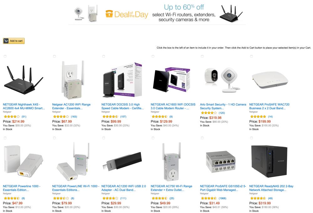 NETGEAR DOCSIS 3.0 High Speed Cable Modem (CM600-100NAS)-Gold Box-sale-01
