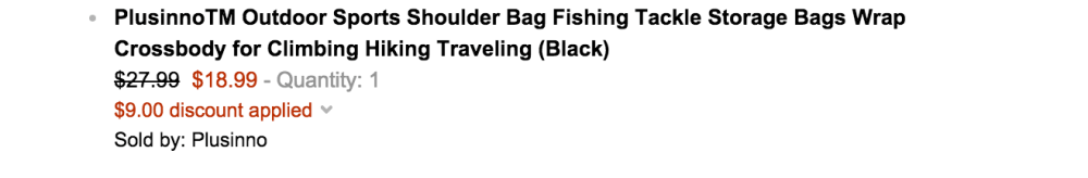 Outdoor Sports Hiking:Fishing Shoulder Pack-3