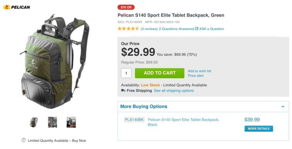 Pelican S140 Sport Elite Tablet Backpack-1