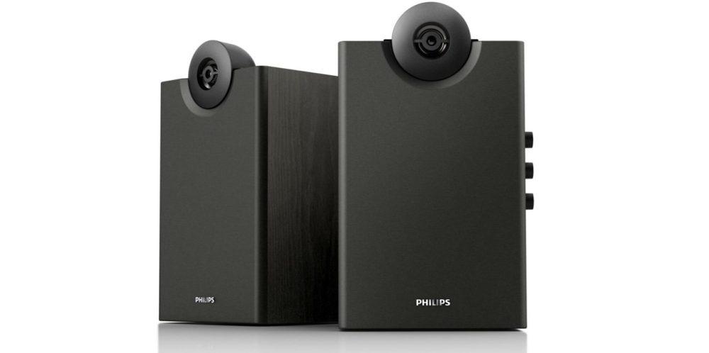 Philips Bookshelf Speakers with Bluetooth