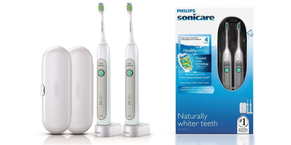 Philips Sonicare HX6772:74 Healthy White Rechargeable Toothbrushes-3