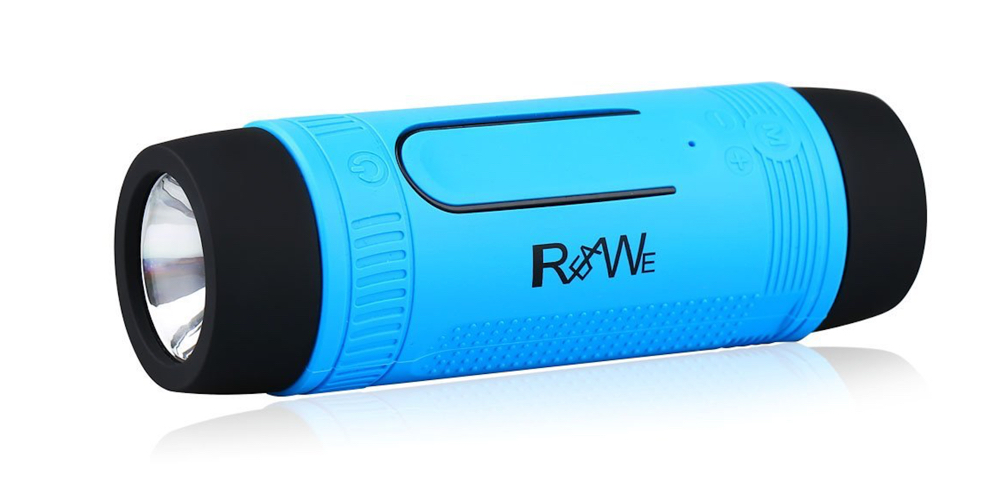 Realwe Outdoor:Indoor LED Flashlight Bluetooth Speaker