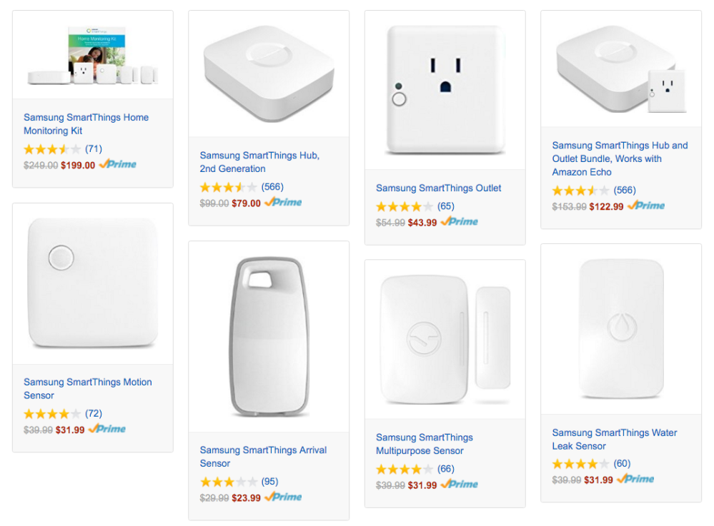samsung smartthings amazon