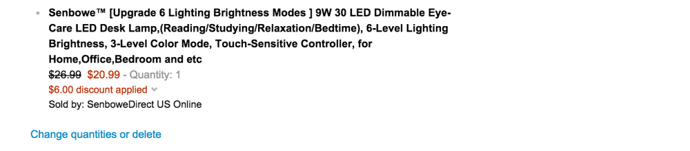 Senbowe Touch-Control LED Dimmable Desk Lamp-sale-02
