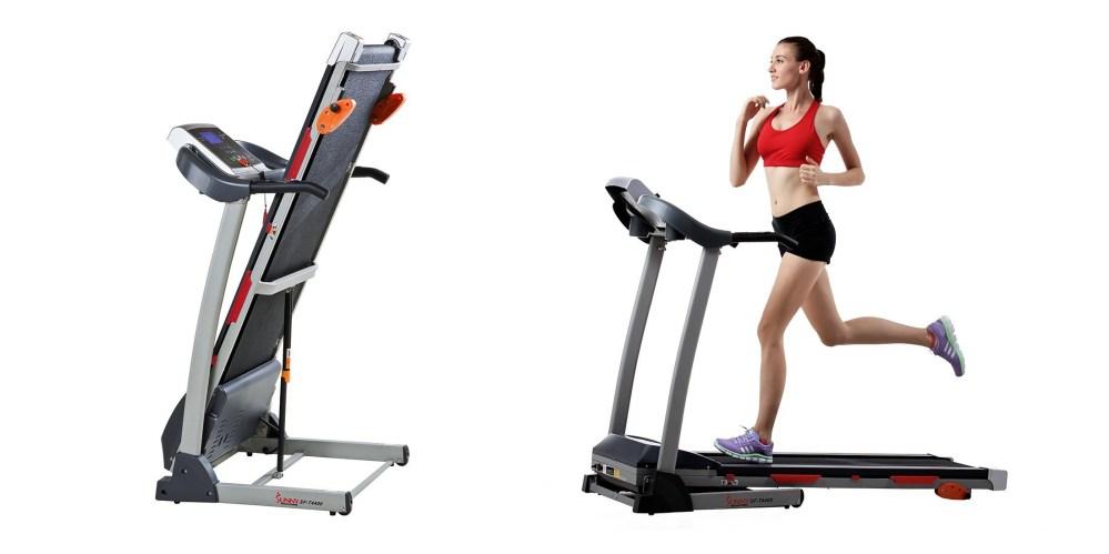 Sunny Health & Fitness Treadmill-3