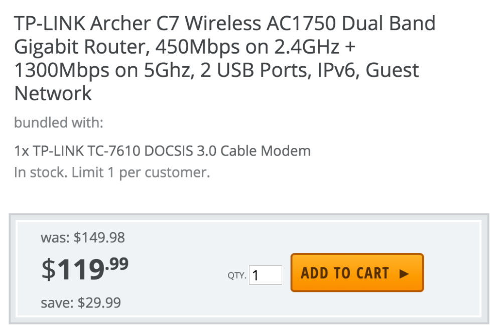 tp-link-acher-c7-modem-deal