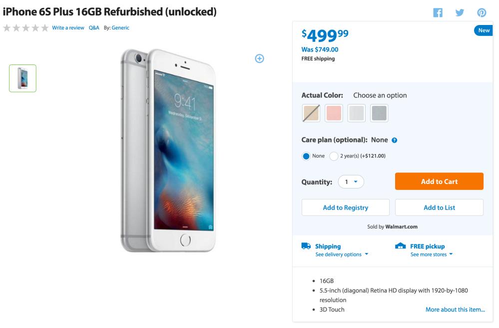 walmart-iphone-6s-plus-deal
