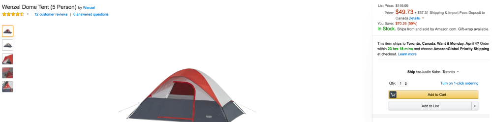 Wenzel Family Dome 5-person Tent-2