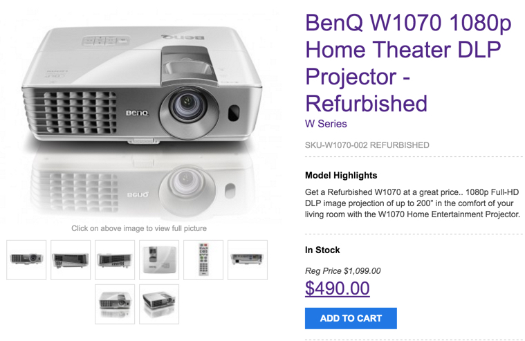 1080p benq projector