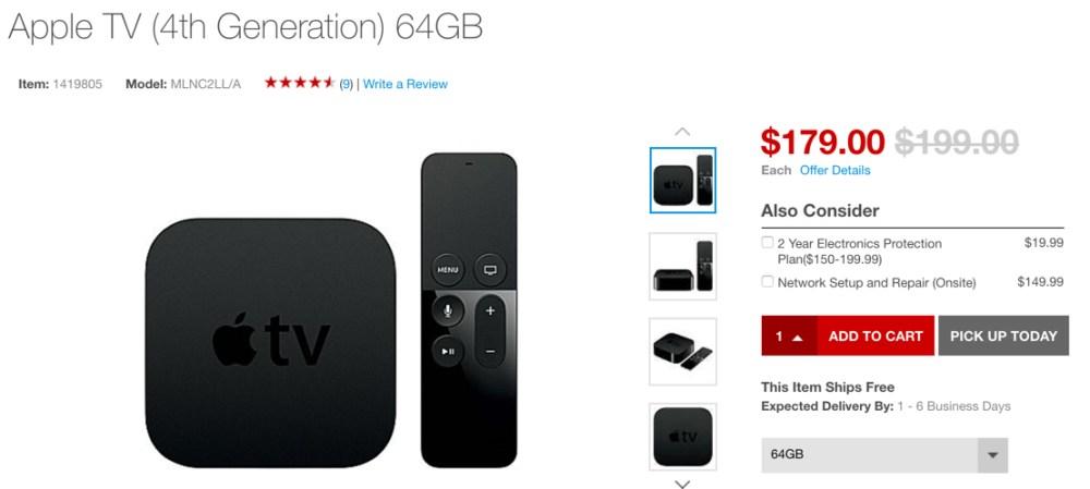 64GB apple tv