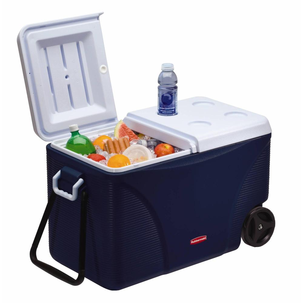 75-Quart Rubbermaid Extreme 5-Day Wheeled Ice Chest:Cooler (FG2C0902MODBL)