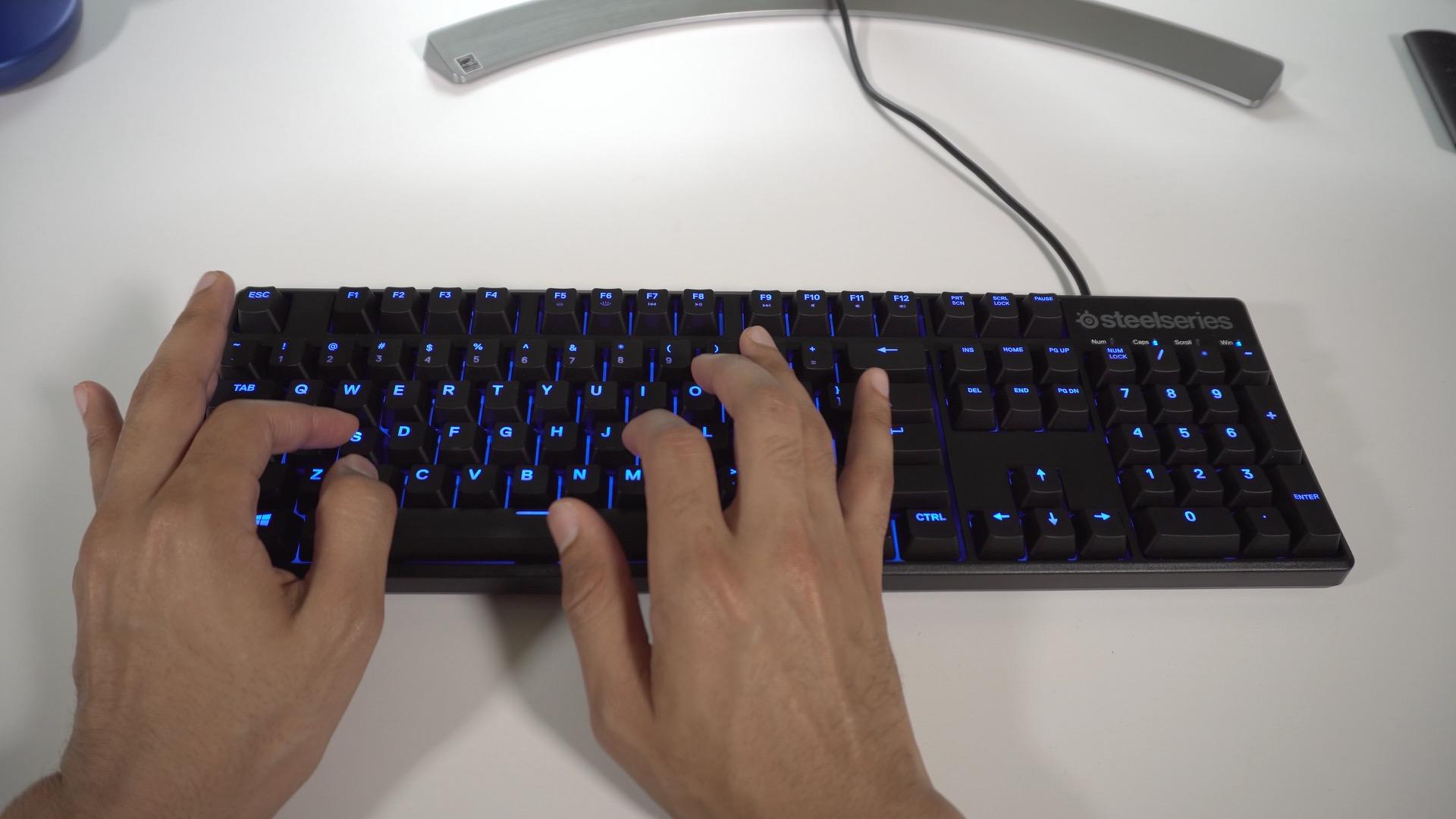 Apex M500 Typing